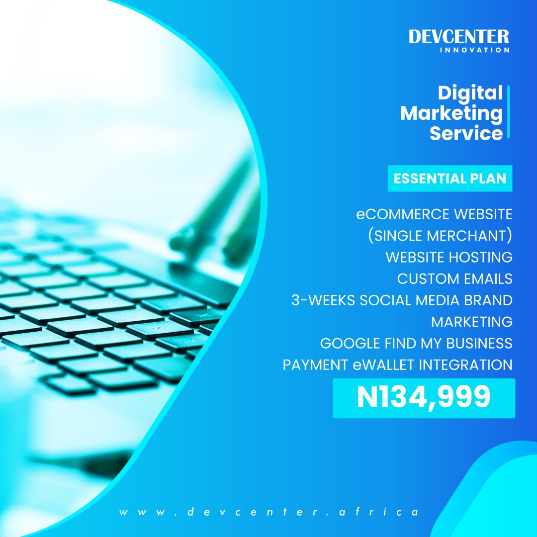 Plan 2: Essential Plan just for ₦134,000